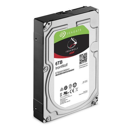 Seagate IronWolf 6TB 5400 RPM 256MB Cache NAS HDD