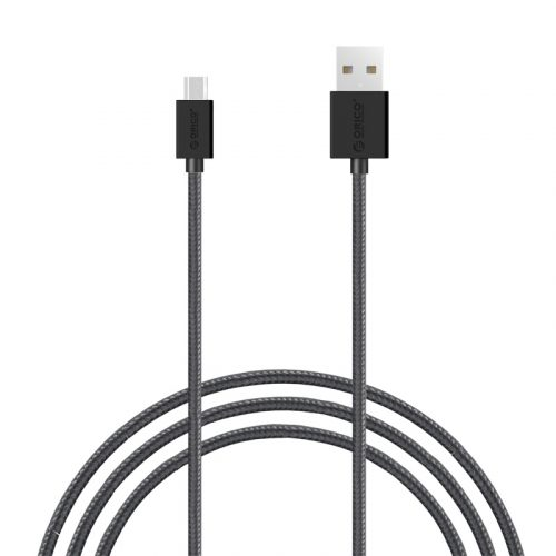 Orico 3.3Ft/1M Strong Nylon Braided Micro (MDC-10) USB Data Cable