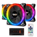 AIGO DarkFlash C7 3in1 PC Case Fan 120mm RGB